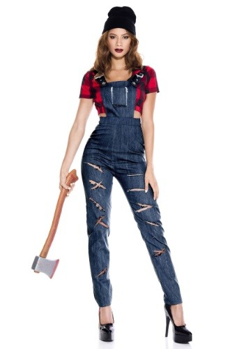 Click Here to buy Womens Lady Lumberjack Costume from HalloweenCostumes, CDN Funds & Shipping