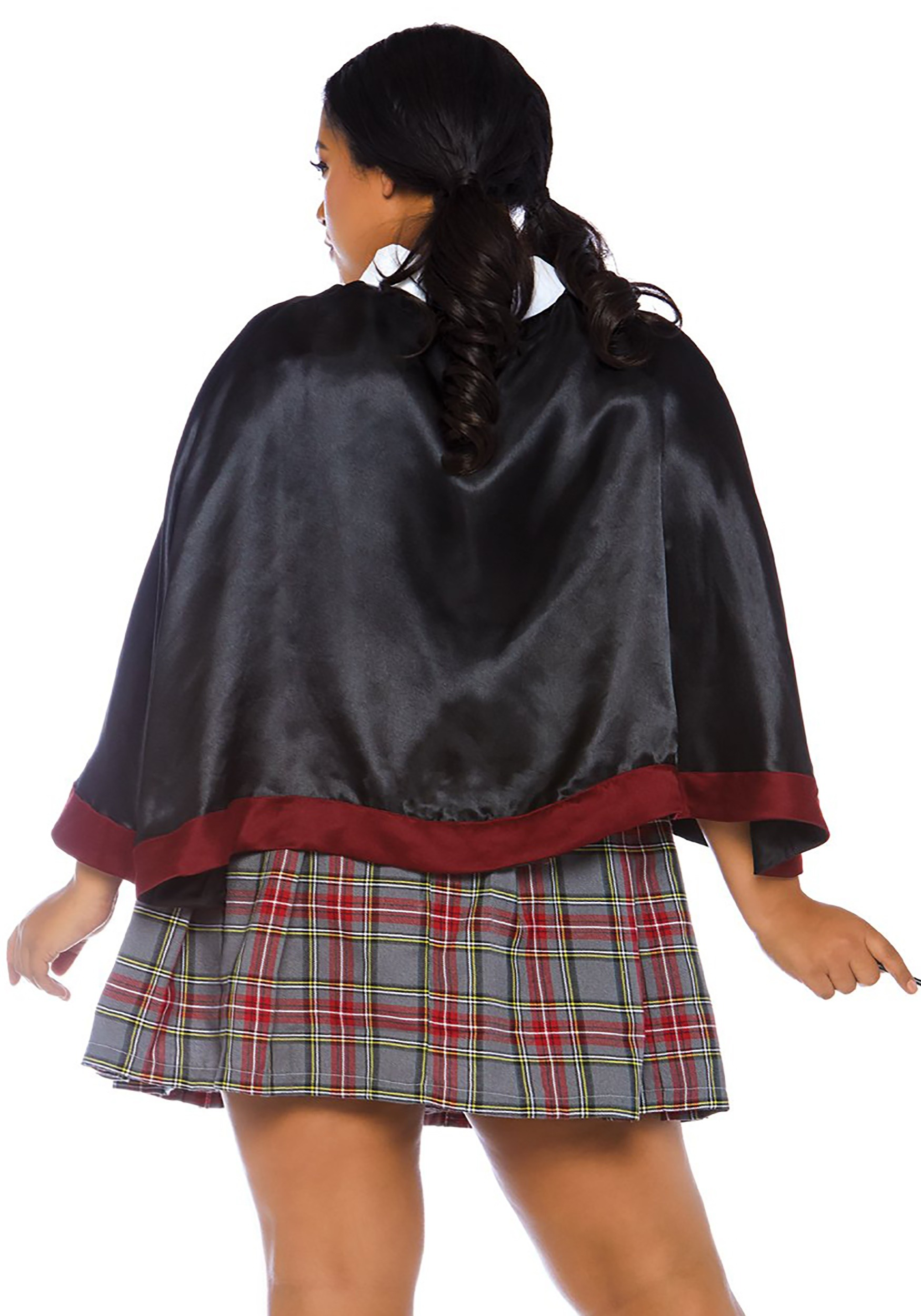 Plus Size Spell Casting School Girl Costume For Women-5750