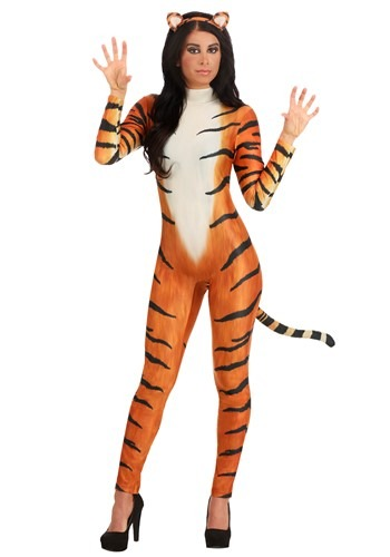 Bold Tiger Costume for Women