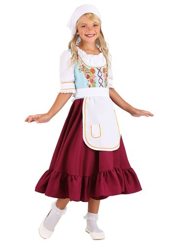 Click Here to buy Storybook Gretel Girls Costume from HalloweenCostumes, CDN Funds & Shipping
