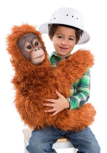 Click Here to buy Orangutan Cuddler Puppet Costume from HalloweenCostumes, CDN Funds & Shipping
