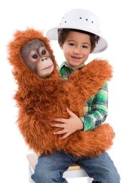 Kids Orangutan Cuddler Puppet Costume