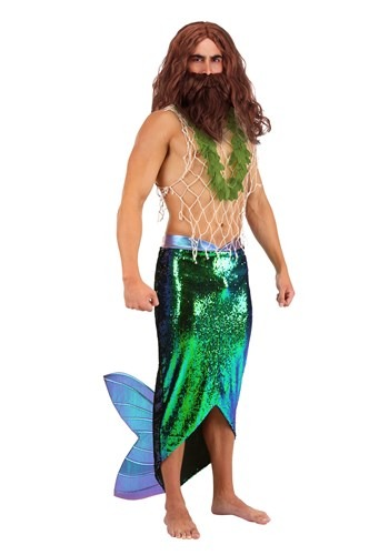 Click Here to buy Salty Merman Mens Costume from HalloweenCostumes, CDN Funds & Shipping