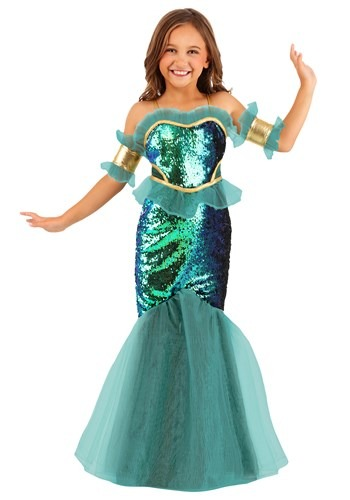Click Here to buy Sea Siren Girls Costume from HalloweenCostumes, CDN Funds & Shipping
