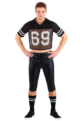 Tight End Footballer Costume for Adults