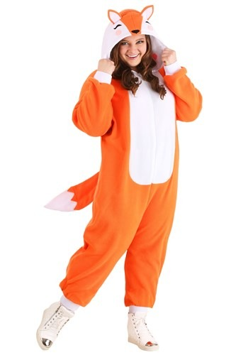 Plus Size Fox Costume Cozy
