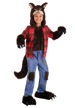 Child Brown Werewolf Costume