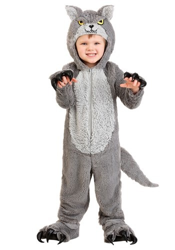 Grey Wolf Toddler Costume