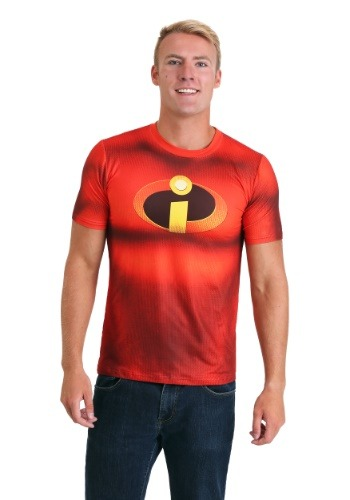 Click Here to buy Disney Incredibles Sublimated Mens Costume Tee from HalloweenCostumes, CDN Funds & Shipping