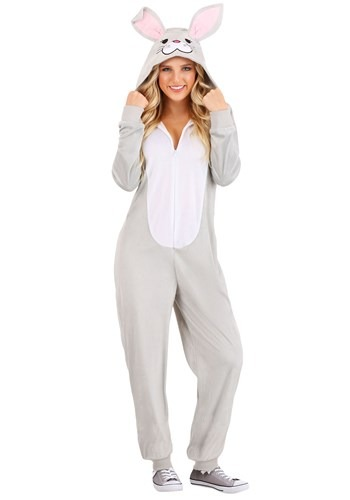 Click Here to buy Funny Bunny Onesie for Adults from HalloweenCostumes, CDN Funds & Shipping
