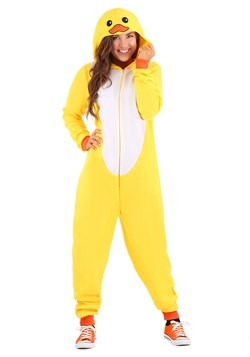 Adult Yellow Duck Onesie