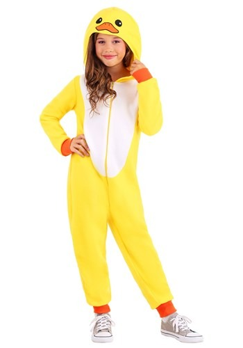 Yellow Duck Onesie for Children