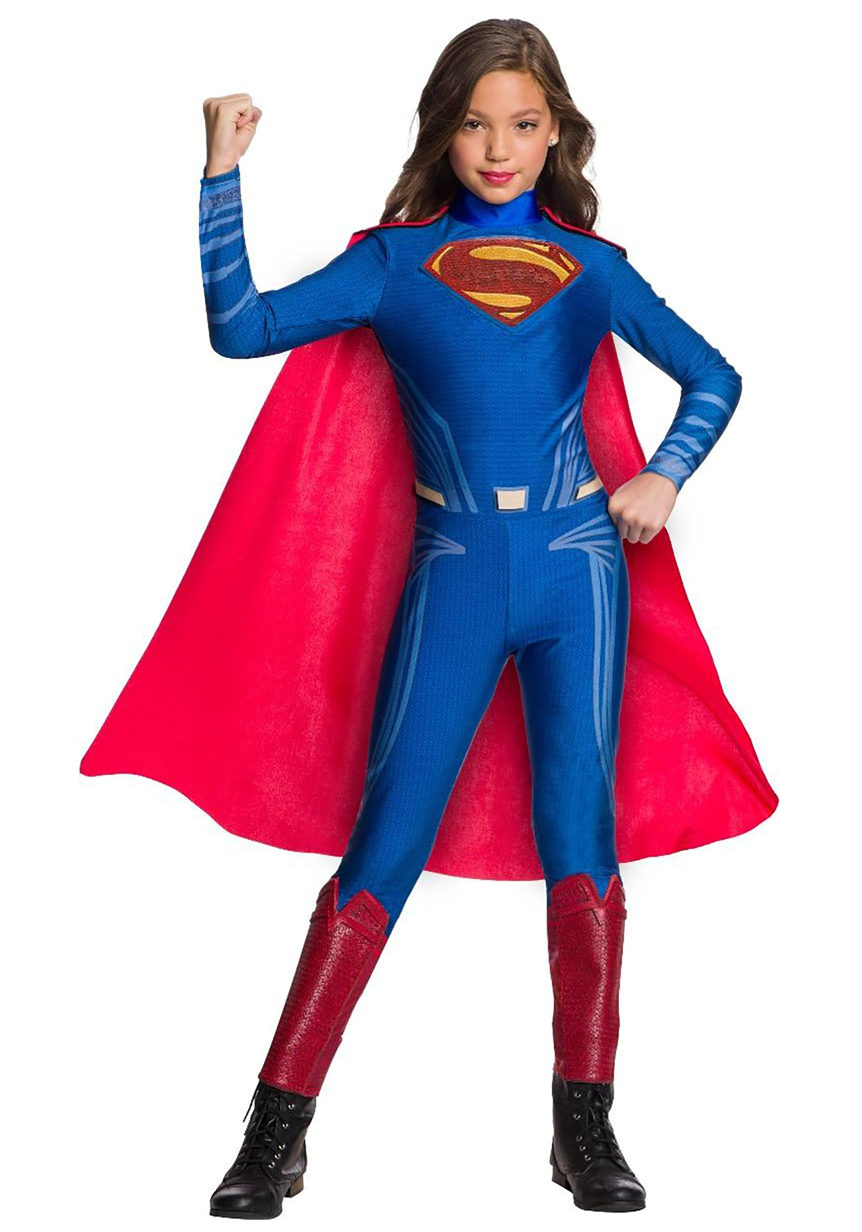 DC Superman Girl's Jumpsuit Costume