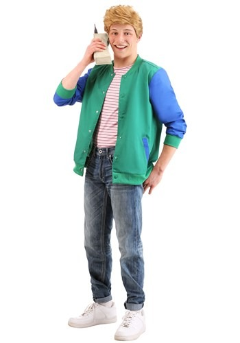 Click Here to buy Adult Saved by the Bell Zack Morris Costume from HalloweenCostumes, CDN Funds & Shipping
