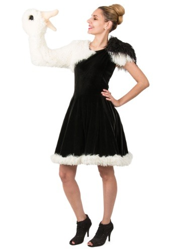 Playful Puppet Ostrich Womens Costume