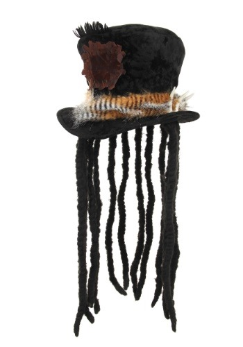 Click Here to buy Witch Doctor Hat with Dreadlocks from HalloweenCostumes, CDN Funds & Shipping