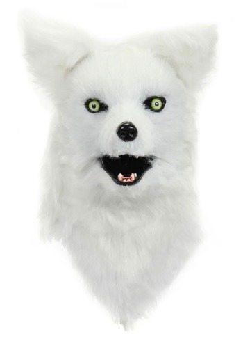 Click Here to buy White Fox Mouth Mover Mask from HalloweenCostumes, CDN Funds & Shipping