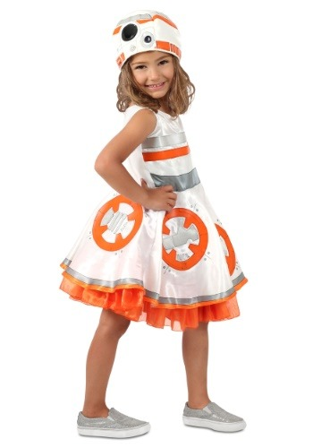 Star Wars BB-8 Costume For Girls