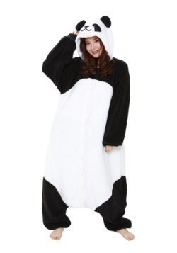Fluffy Panda Kigurumi