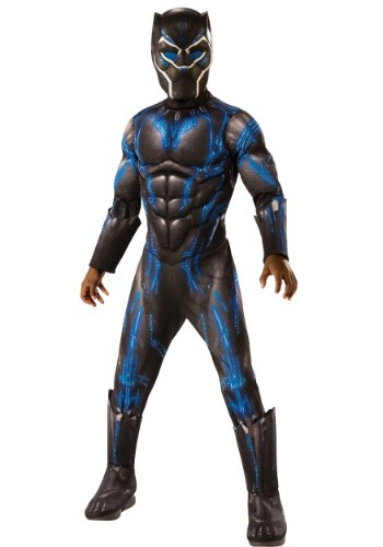 Black Panther Child Deluxe Battle Blue Suit