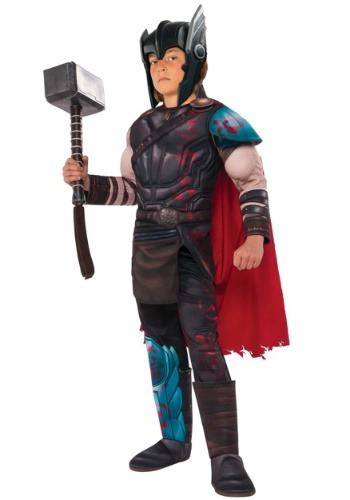 Child Deluxe Gladiator Thor Costume