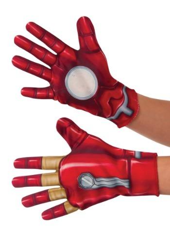 Click Here to buy Marvel Iron Man Kids Gloves from HalloweenCostumes, CDN Funds & Shipping
