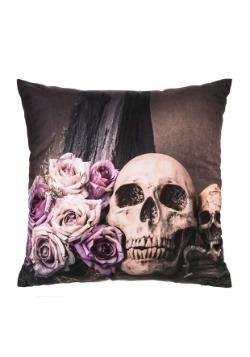 """16"""" Skull Pillow w/ LED Lights"""