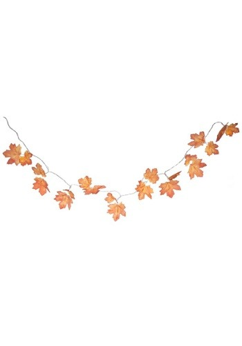 "Fall Light Up Leaf Garland 47"" Length"