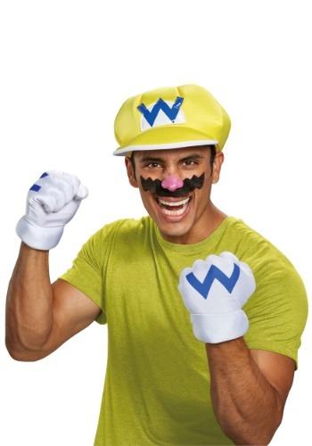 Nintendo Wario Adult Accessory Kit
