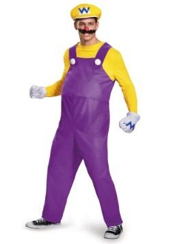 Adult Wario Deluxe Costume