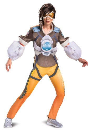 Womens Overwatch Tracer Deluxe Costume