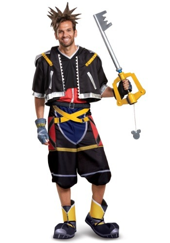 Deluxe Kingdom Hearts Sora Costume for Men