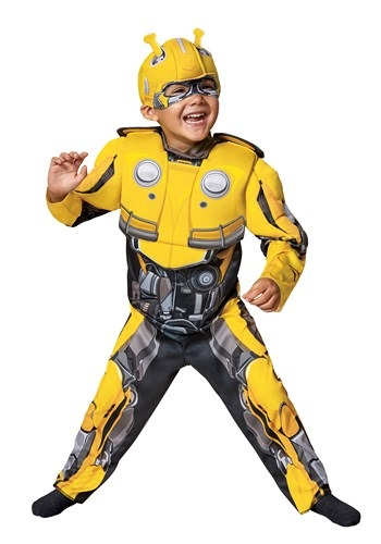 Toddler Bumblebee Movie Transformer Costume