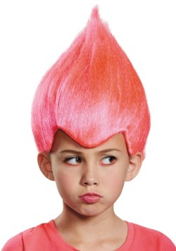 Child Pink Wacky Wig