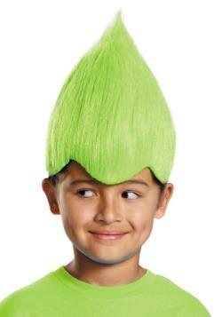 Child Green Wacky Wig
