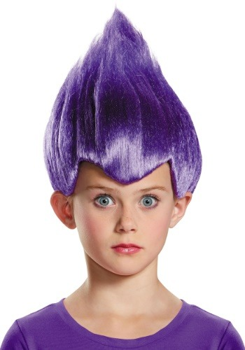 Click Here to buy Purple Wacky Kids Wig from HalloweenCostumes, CDN Funds & Shipping