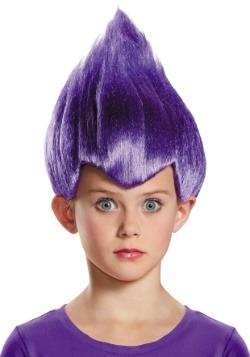Child Purple Wacky Wig