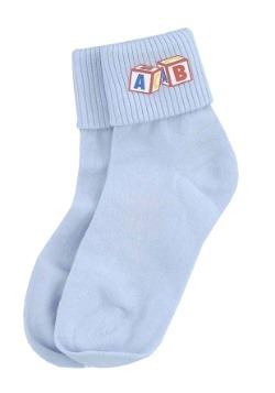 Blue Big Baby Socks