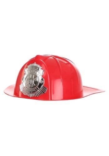 Deluxe Firemans Red Helmet