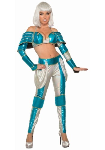 Space Warrior Queen Womens Costume