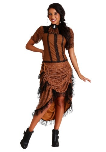 Click Here to buy Last Dance Saloon Girl Costume from HalloweenCostumes, CDN Funds & Shipping