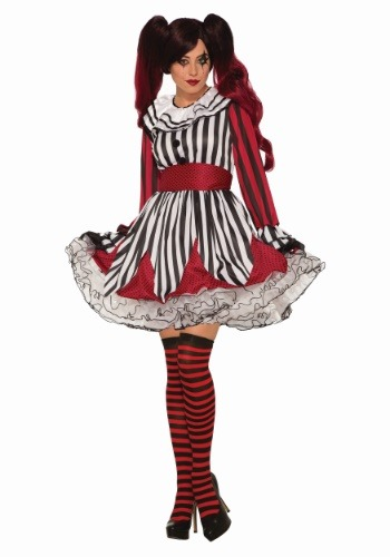 Miss Mischief the Clown Womens Costume