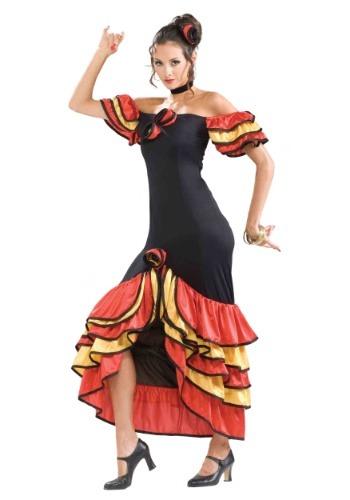 Spanish Lady Womens Costume