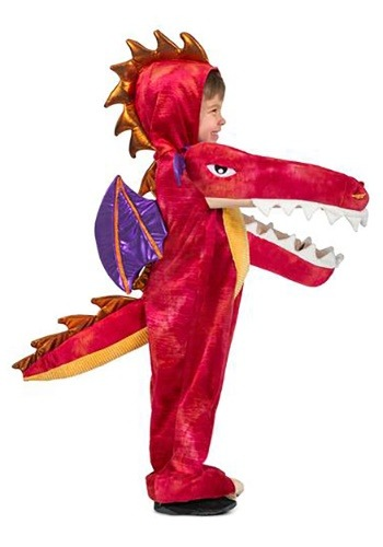 Child Chompin Red Dragon Costume