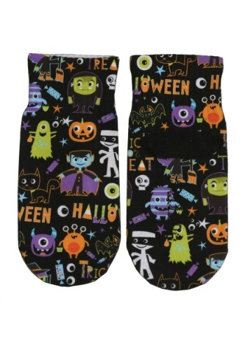 Halloween Monsters Kids Ankle Socks