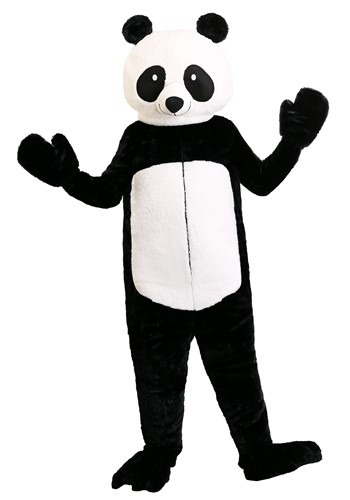 Click Here to buy Adults Plus Size Panda Bear Costume from HalloweenCostumes, CDN Funds & Shipping