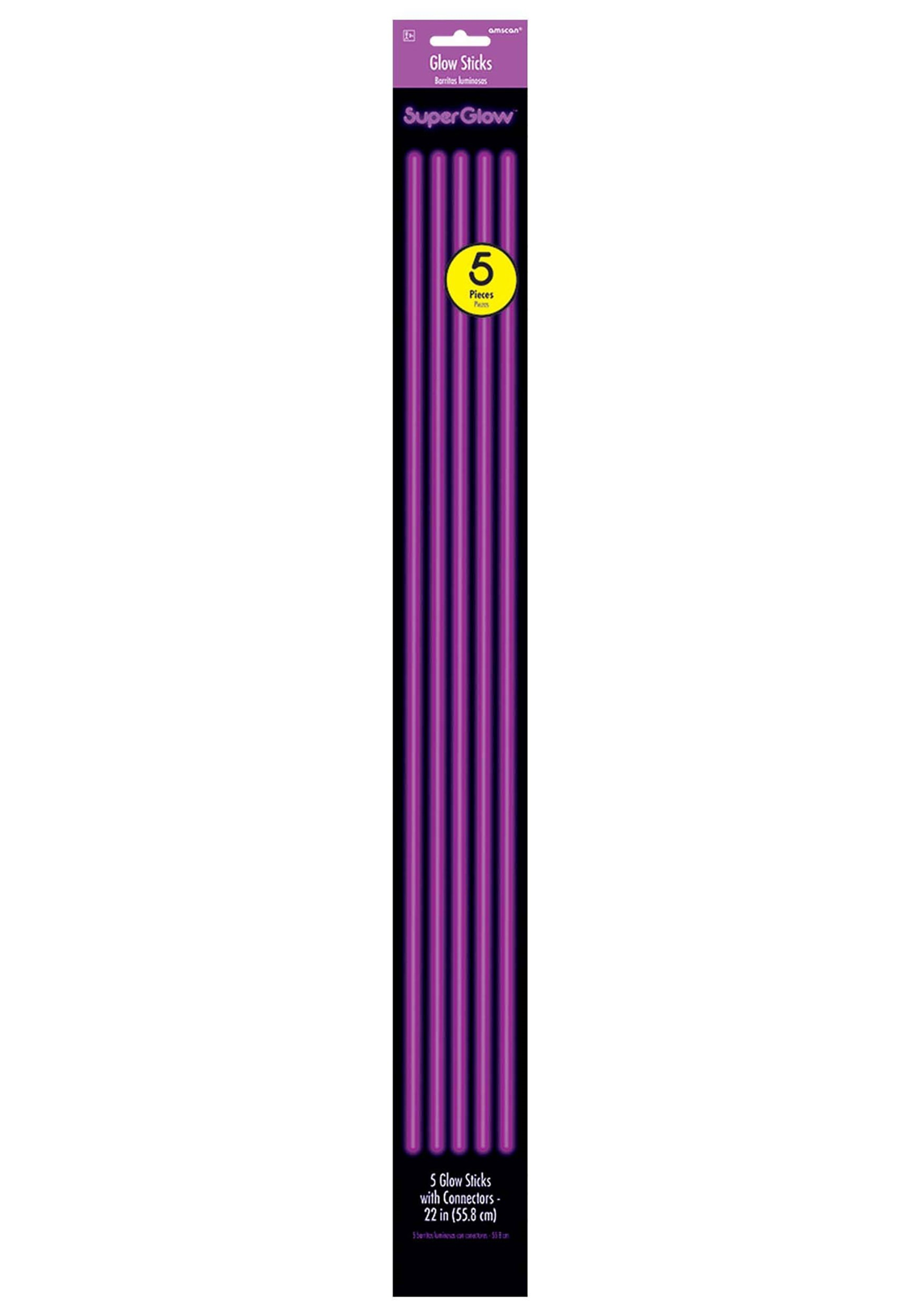 "Purple_Glowsticks-_22""_Pack_of_5"