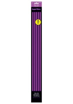 "22"" Purple Glowsticks Pack of 5"