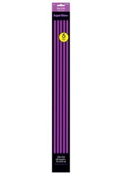 "22"" Purple Glowsticks Pack of 5"