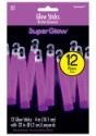 "Purple Glowsticks - 4"" Pack of 12"